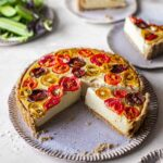 Easy Vegan Tomato Quiche